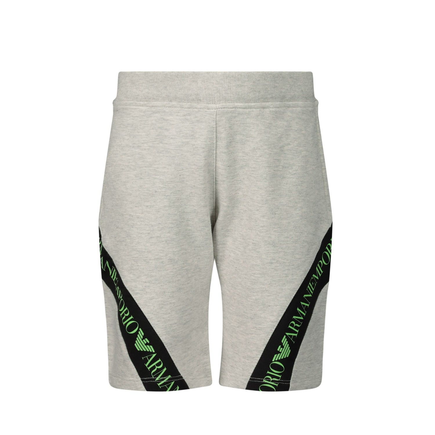 Picture of Armani 3HHS02 baby shorts light gray