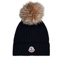 Picture of Moncler 3B71110 kids hat navy
