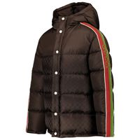 Picture of Gucci 616100 kids jacket brown