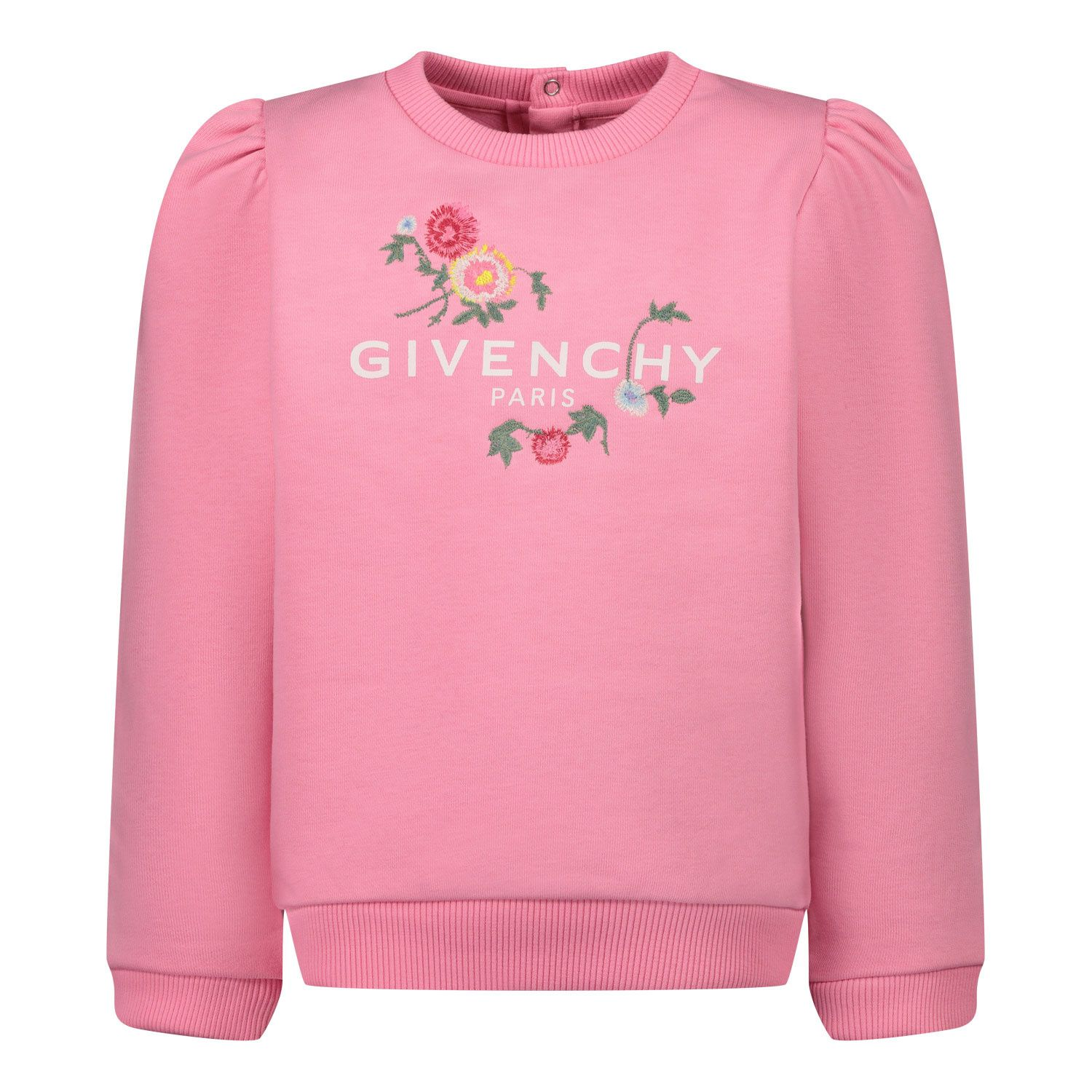 Picture of Givenchy H05144 baby sweater fuchsia