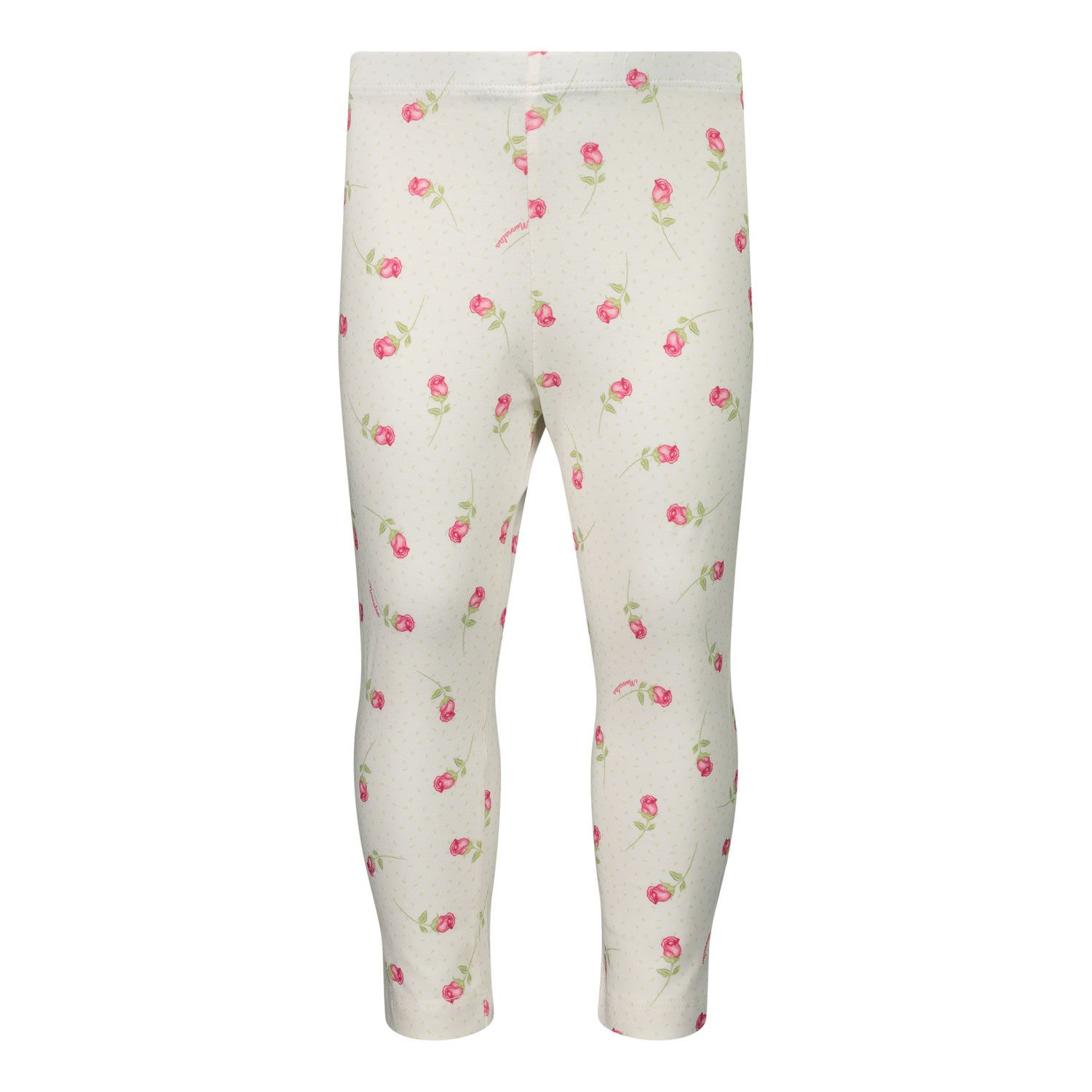 Picture of MonnaLisa 317402 baby legging off white