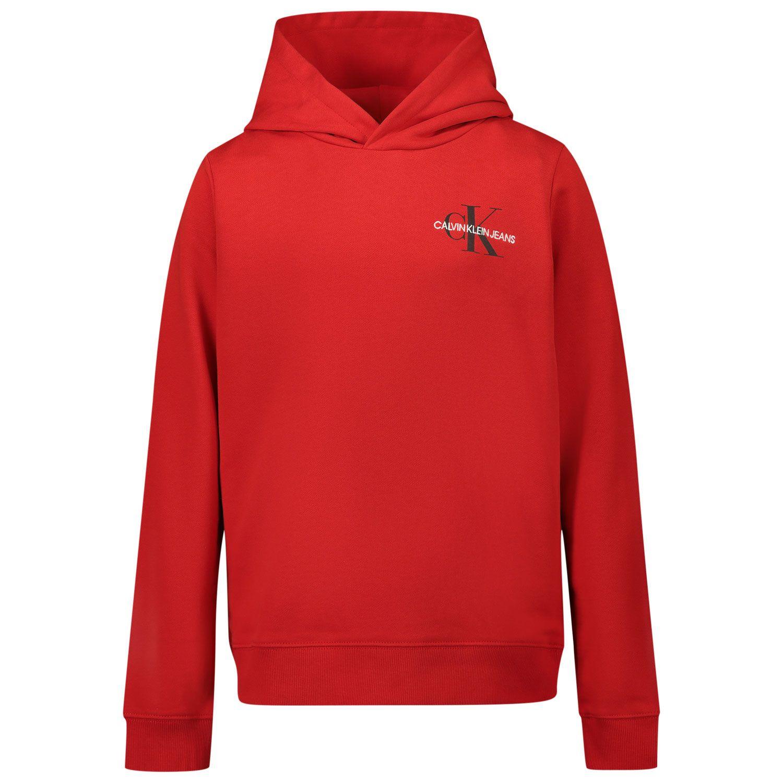Picture of Calvin Klein IU0IU00164 kids sweater red