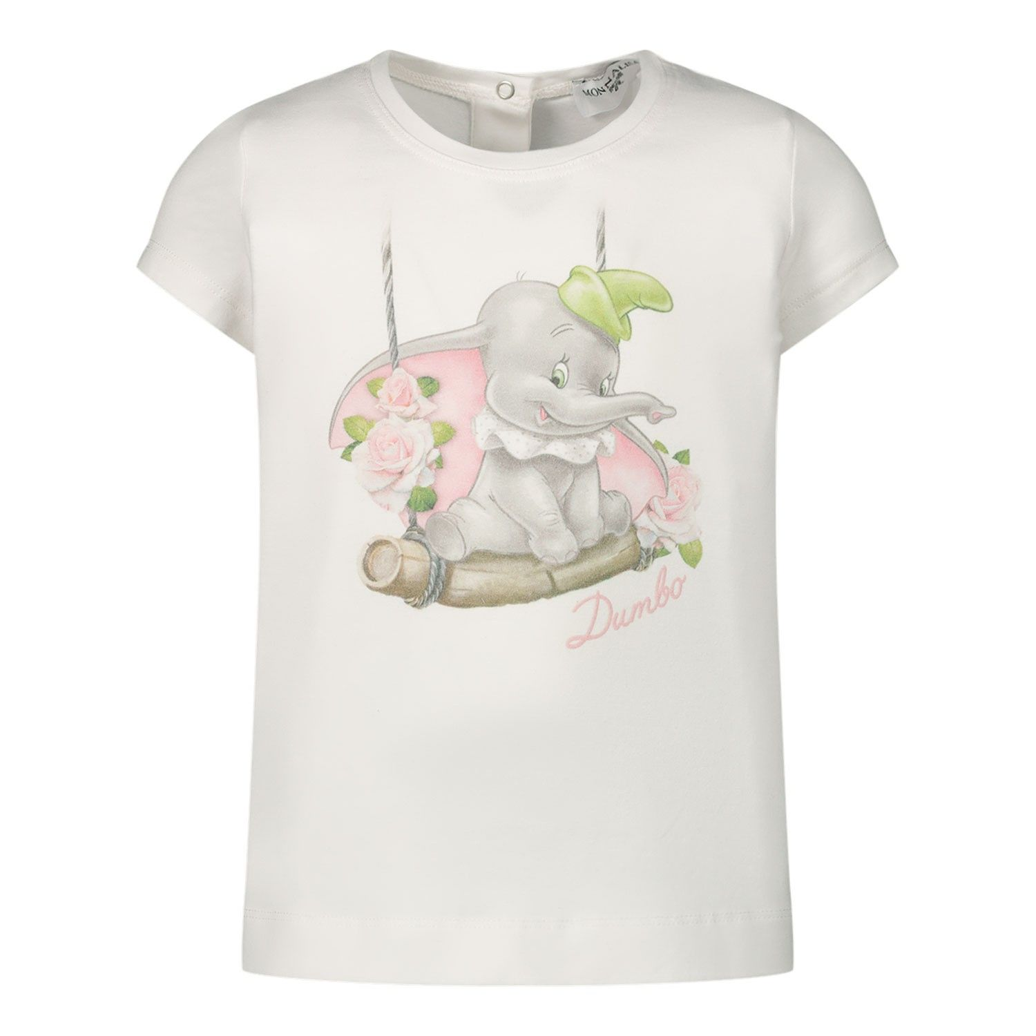 Picture of MonnaLisa 395608SC baby shirt off white
