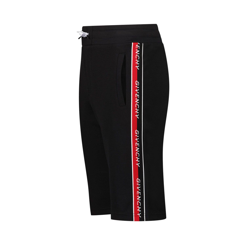 Afbeelding van Givenchy H24120 kinder shorts zwart