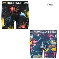 Bild von Muchachomalo EDM1010 Kinderunterwäsche Blau
