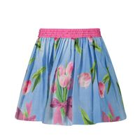 Picture of MonnaLisa 115703 kids skirt blue