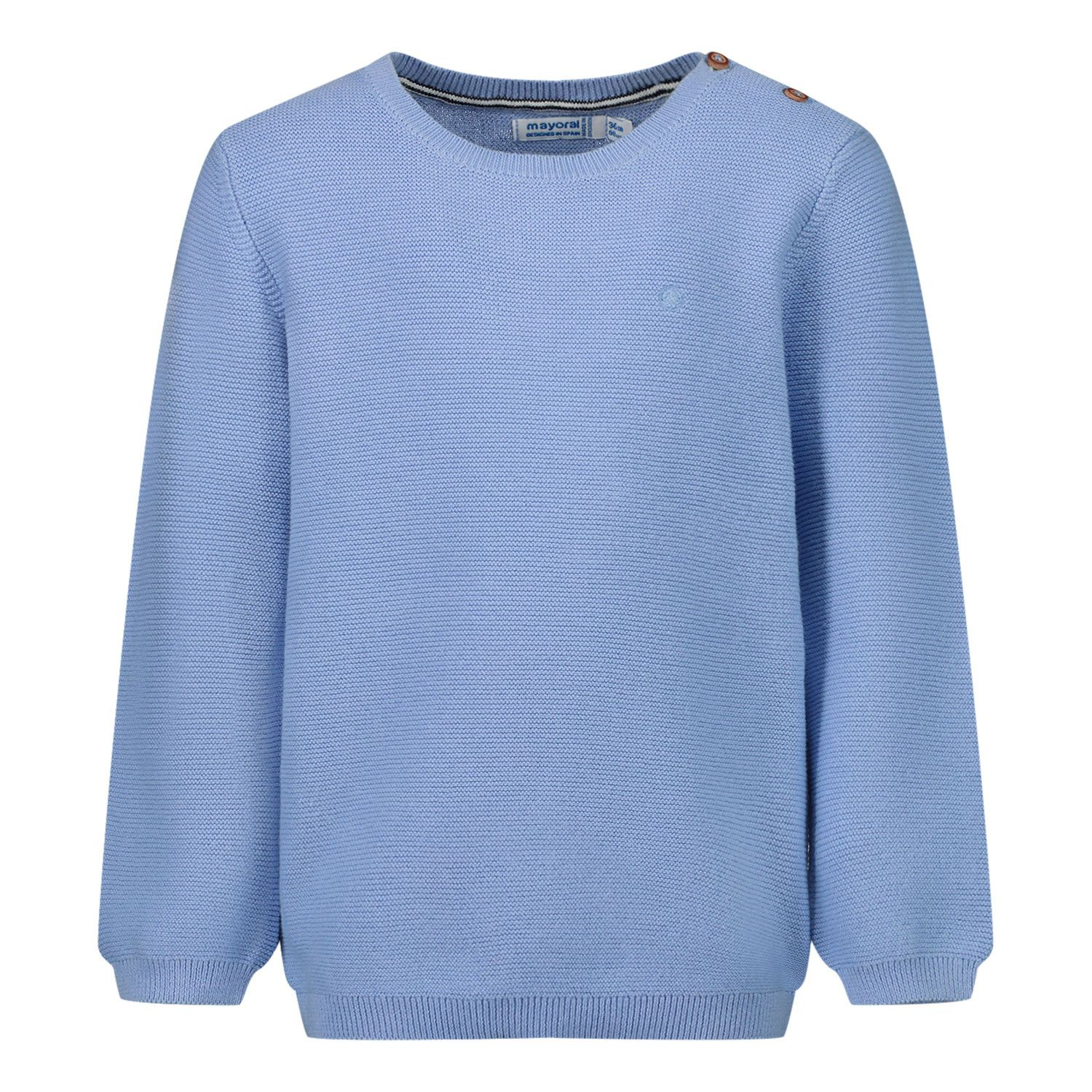 Picture of Mayoral 303 baby sweater light blue