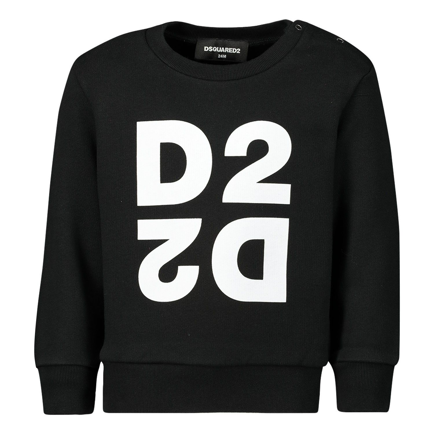Picture of Dsquared2 DQ042S baby sweater black