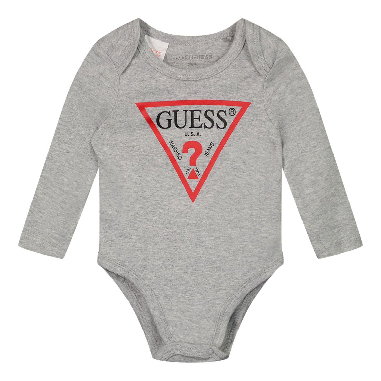 Bild von Guess H02W01 Babystrampler Hellgrau