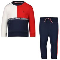 Picture of Tommy Hilfiger KN0KN01326 baby sweatsuit navy