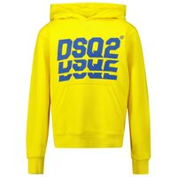 Picture of Dsquared2 DQ0476 kids sweater yellow