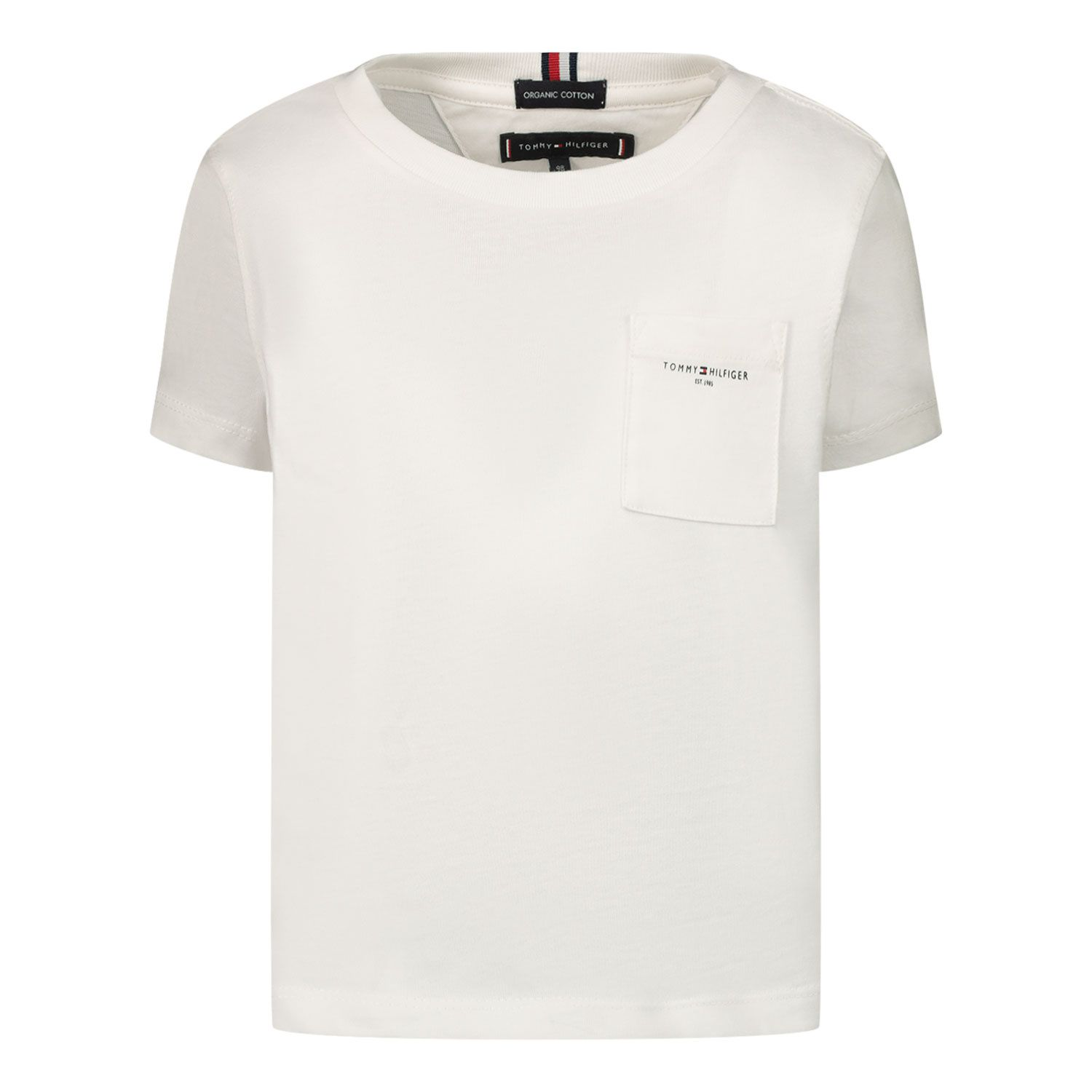 Picture of Tommy Hilfiger KB0KB06556B baby shirt white