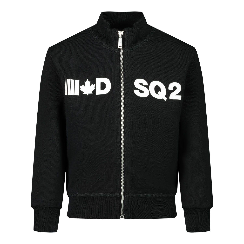 Picture of Dsquared2 DQ04DA baby vest black