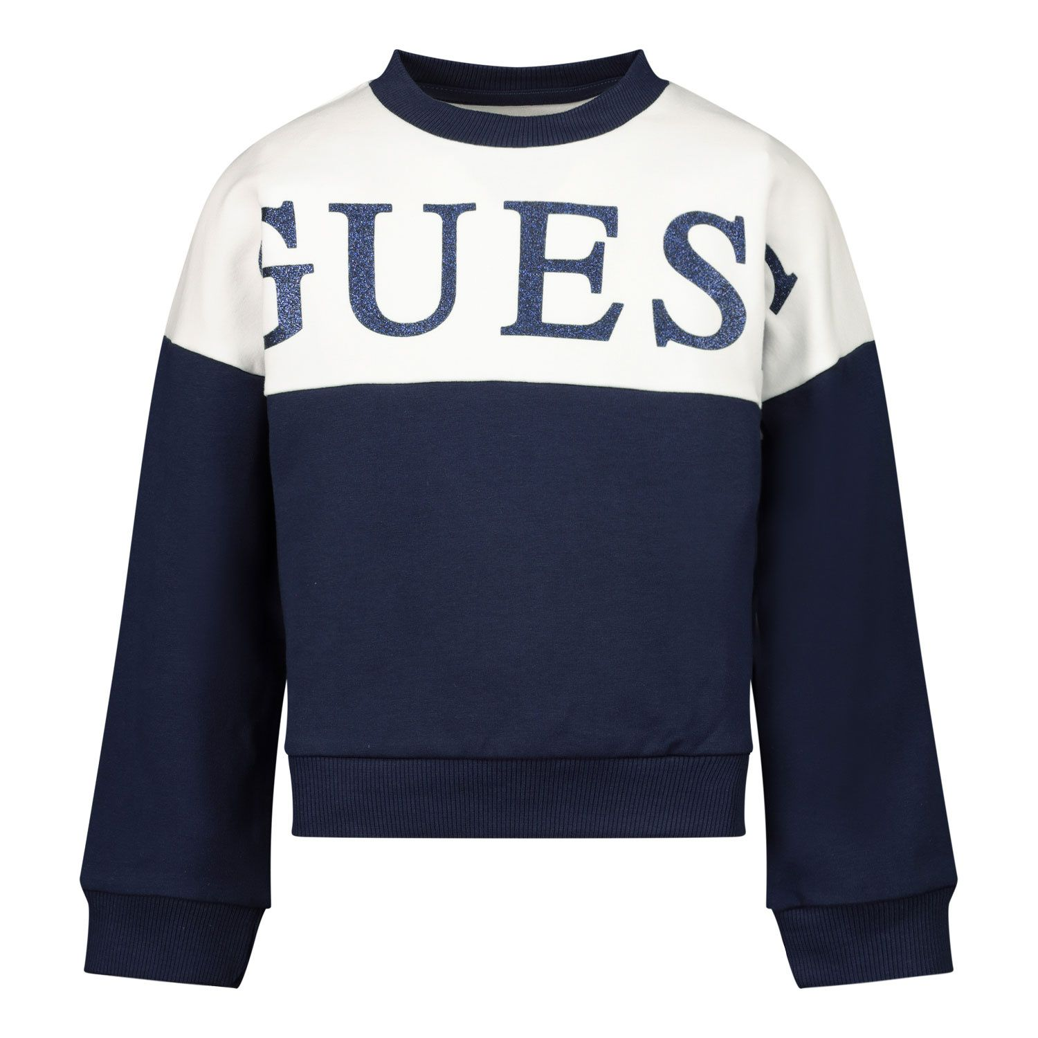 Picture of Guess K0YQ00/KA6V0 kids sweater navy