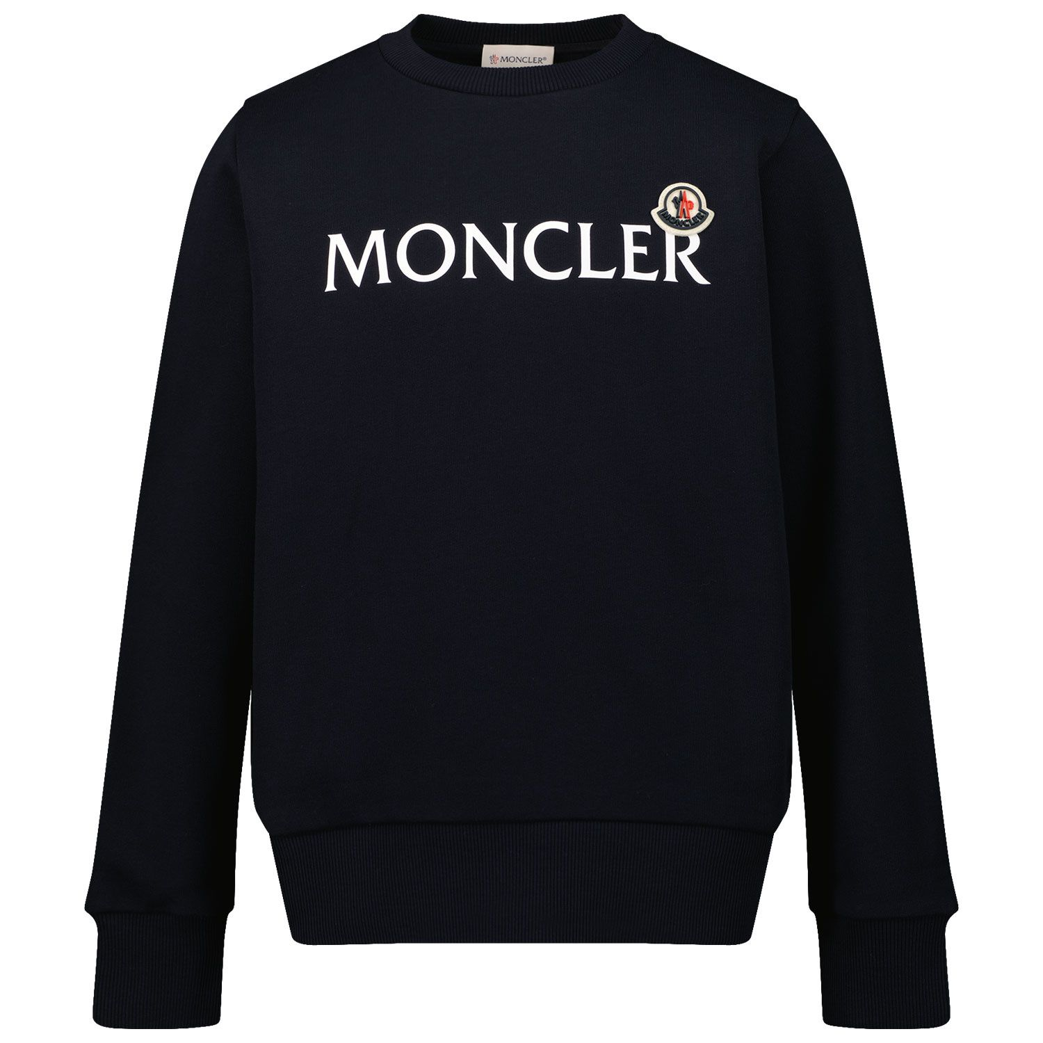 Picture of Moncler 8G79700 kids sweater navy
