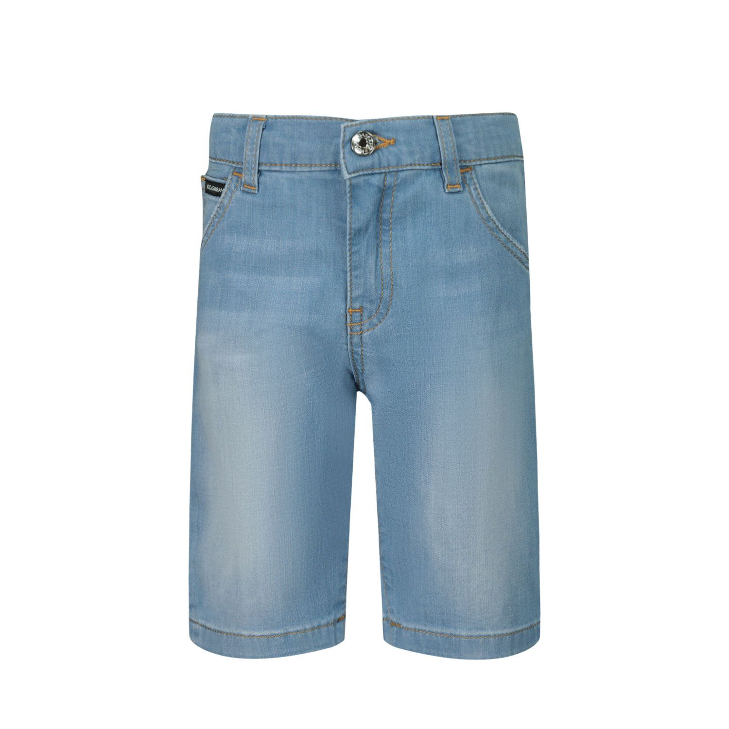 Picture of Dolce & Gabbana L12Q36 baby shorts jeans