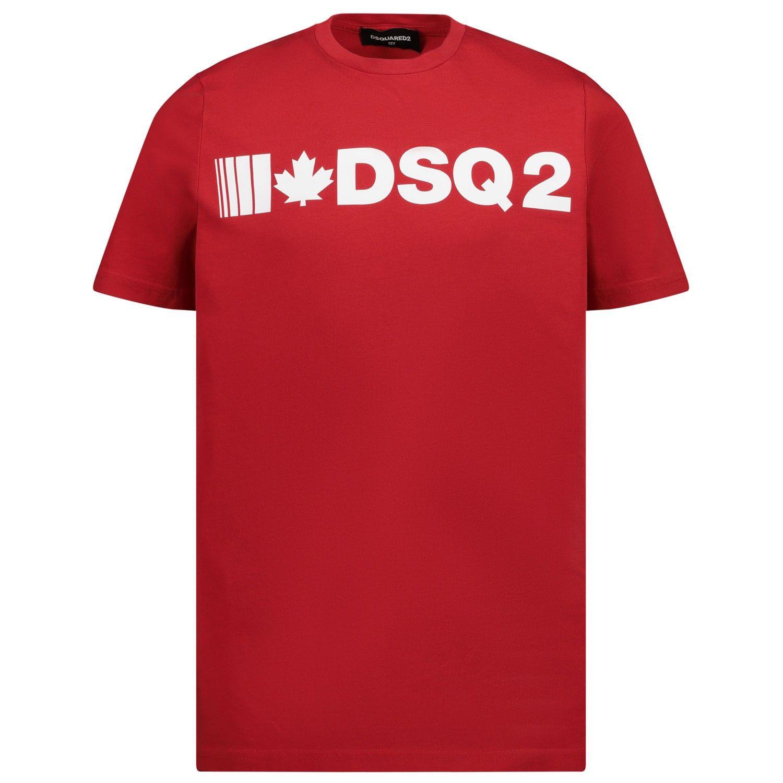 Bild von Dsquared2 DQ046Y Kindershirt Rot