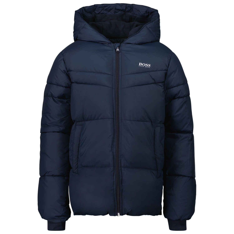 Picture of Boss J26458 kids jacket navy