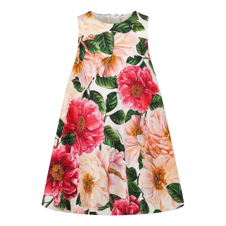 Bild von Dolce & Gabbana L2JDZ0/FSGUD Babykleid Pink