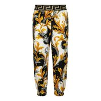Picture of Versace YB000204 baby pants black