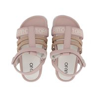 Picture of Liu Jo 4A1319 kids sandals light pink