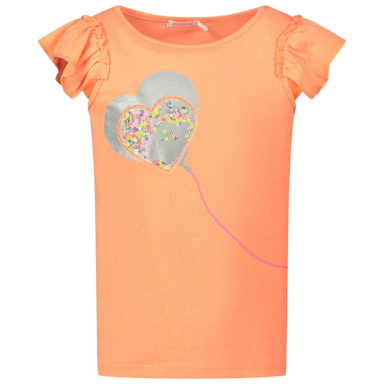Picture of BillieBlush U15710 kids t-shirt fluoro orange