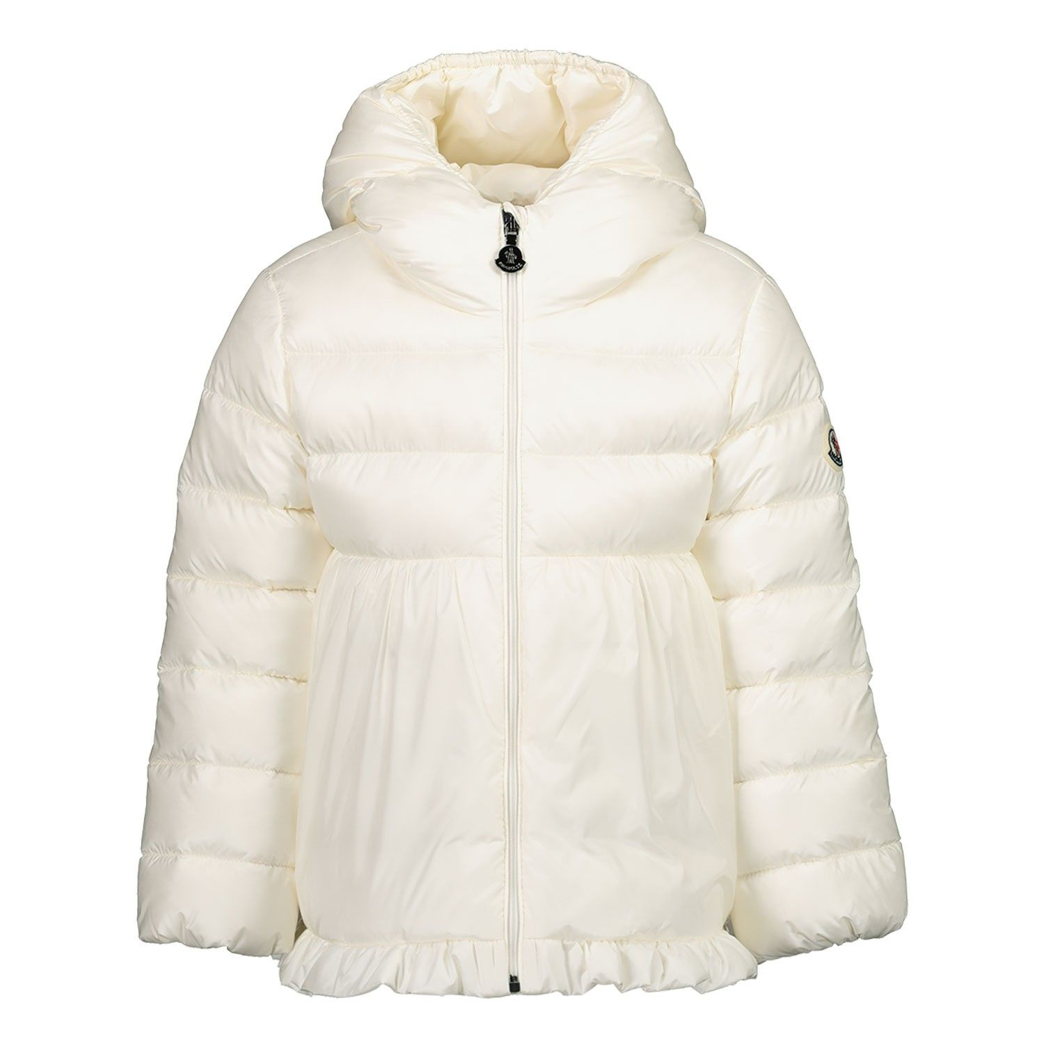 Picture of Moncler 1A53010 baby coat off white