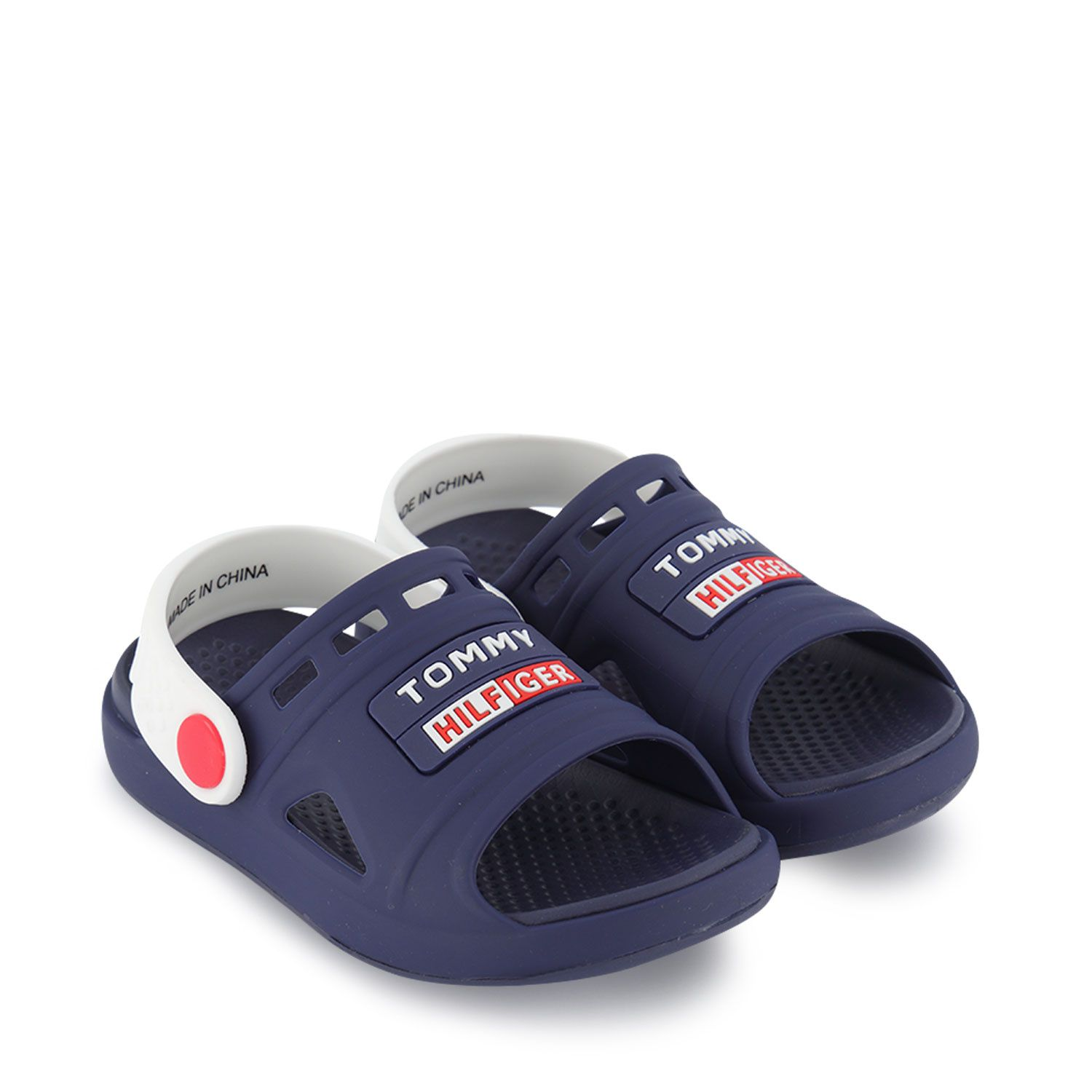 Picture of Tommy Hilfiger 31115 kids sandals navy
