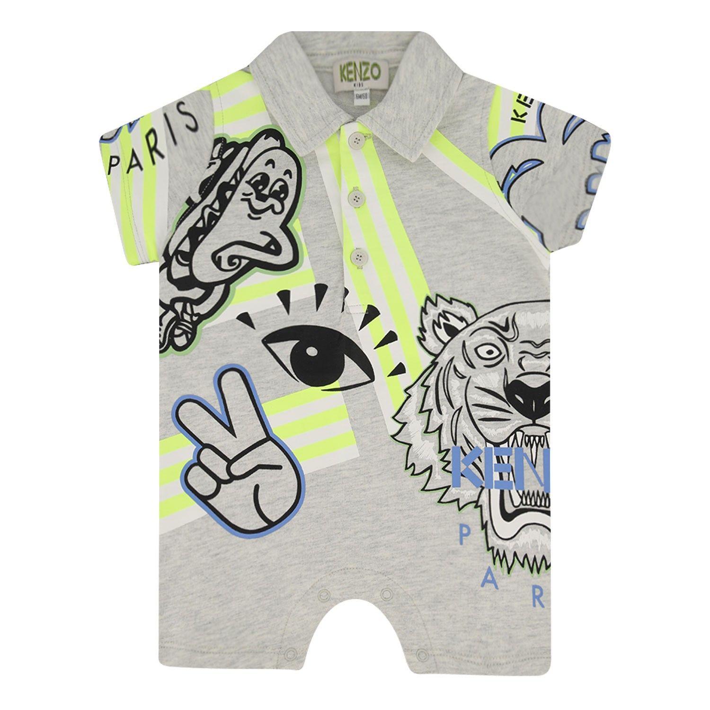 Bild von Kenzo 33507 Babystrampelanzug Hellgrau