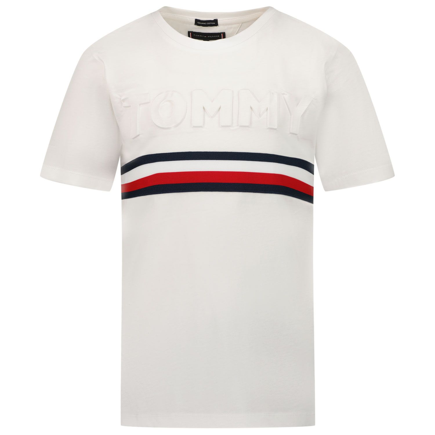 Picture of Tommy Hilfiger KB0KB06320 kids t-shirt white
