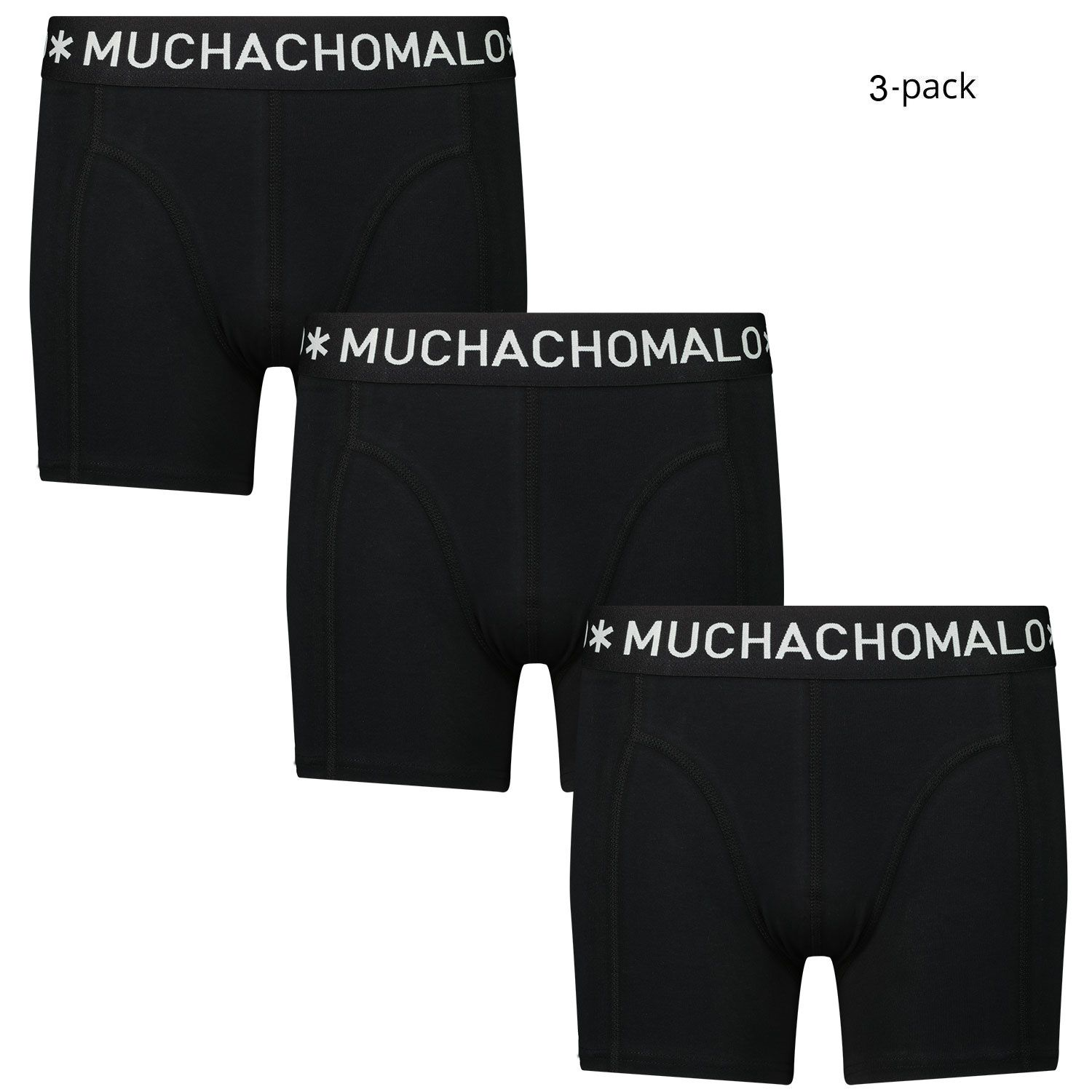 Picture of Muchachomalo 1010JSOLID kids underwear black
