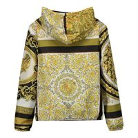 Picture of Versace 1000080 baby coat white