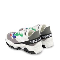 Picture of Dsquared2 65041 kids sneakers white