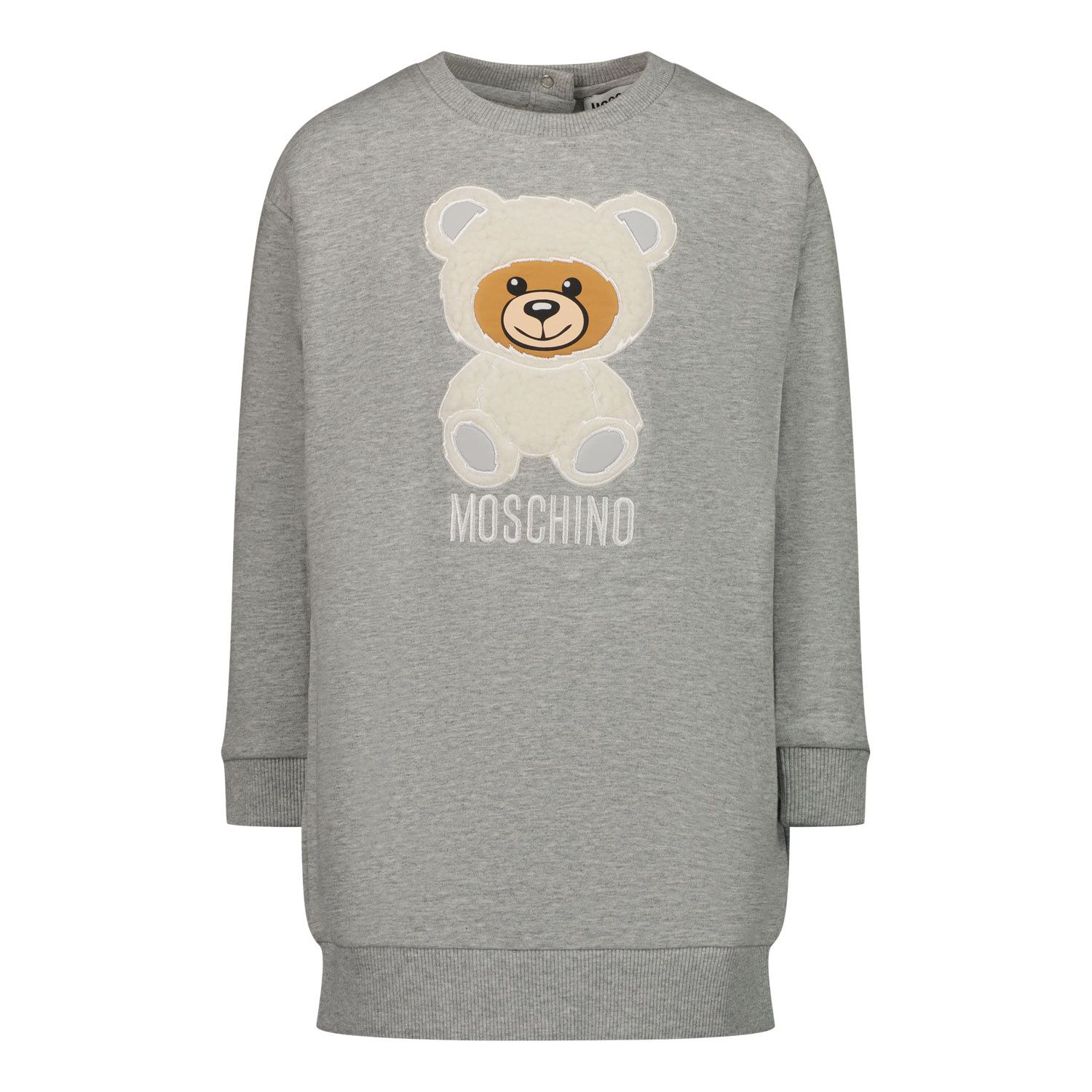 Picture of Moschino MIV05T baby dress grey
