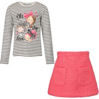 Picture of Mayoral 4942 kids set fuchsia