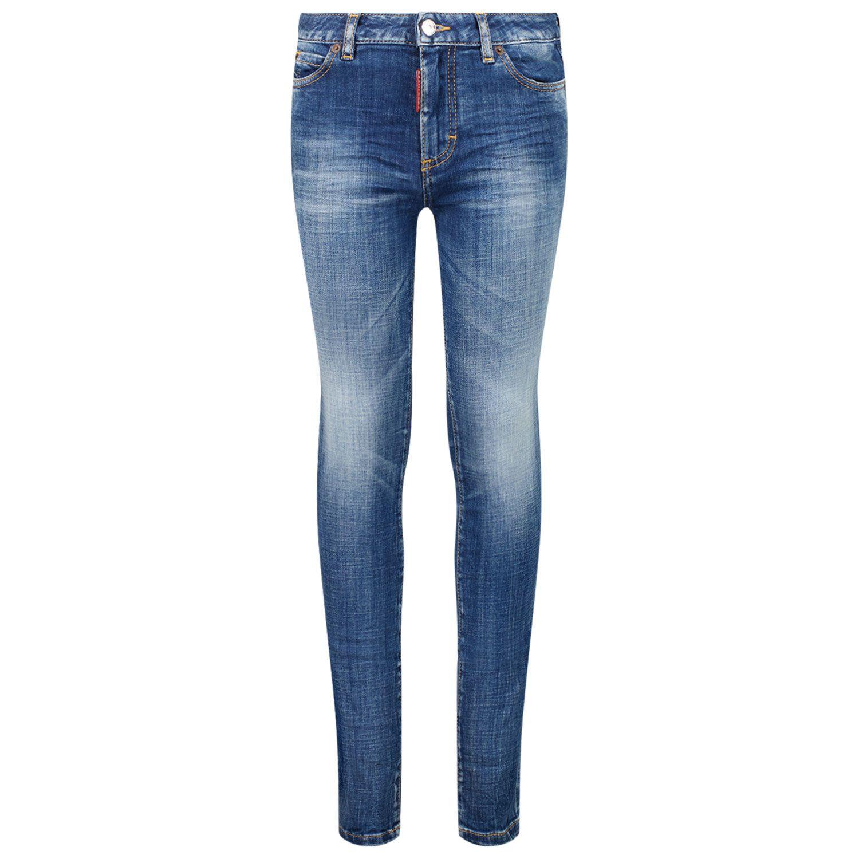Afbeelding van Dsquared2 DQ01DX D007K kinderbroek jeans
