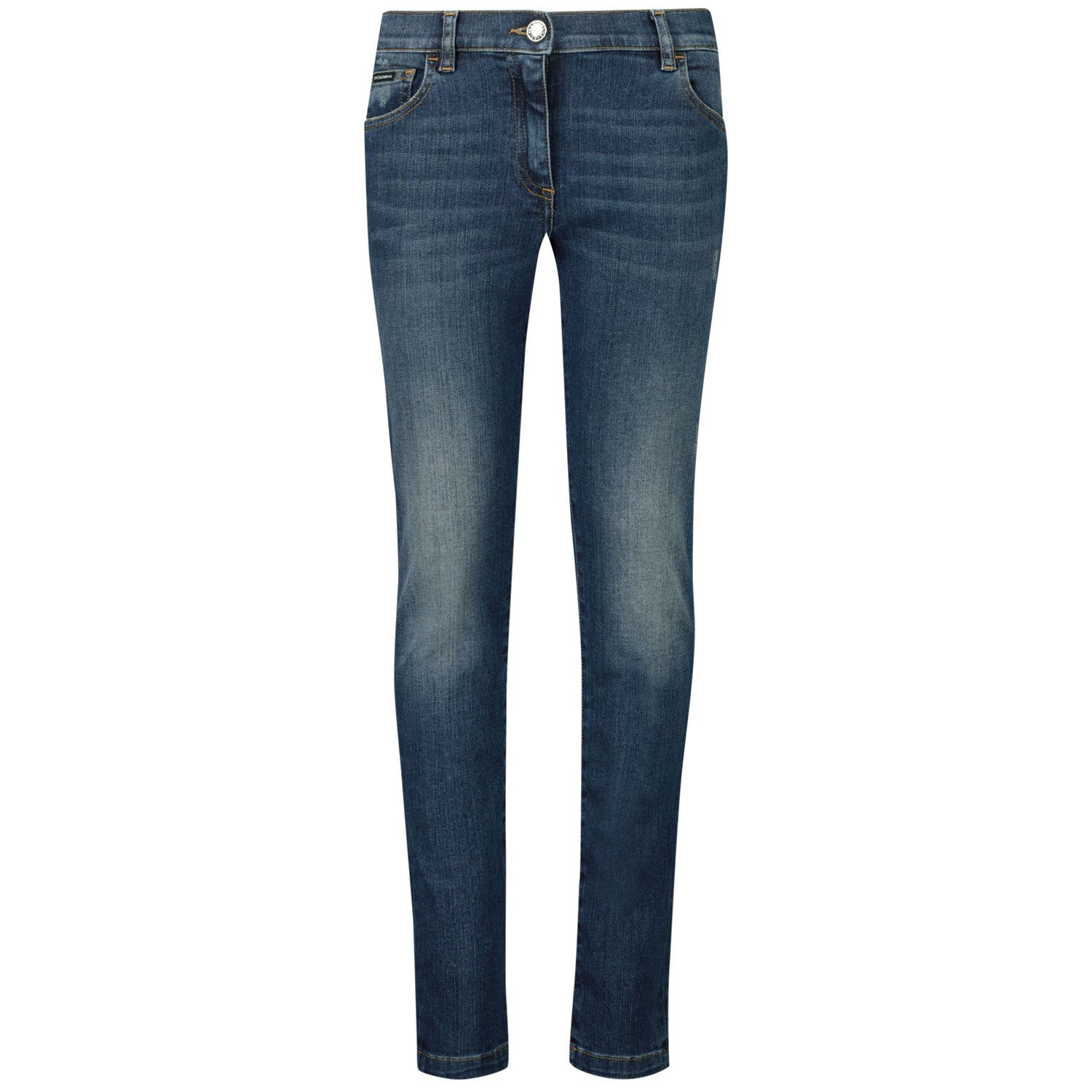Picture of Dolce & Gabbana L51F69 LD954 kids jeans jeans
