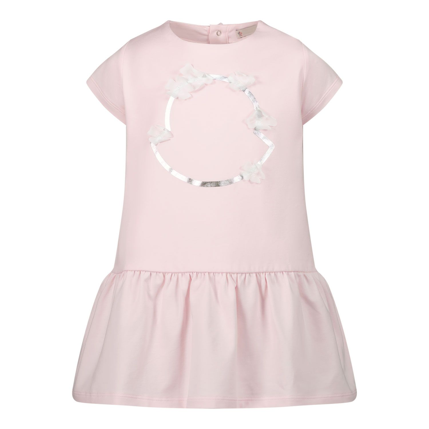 Picture of Moncler 8!72410 baby dress light pink