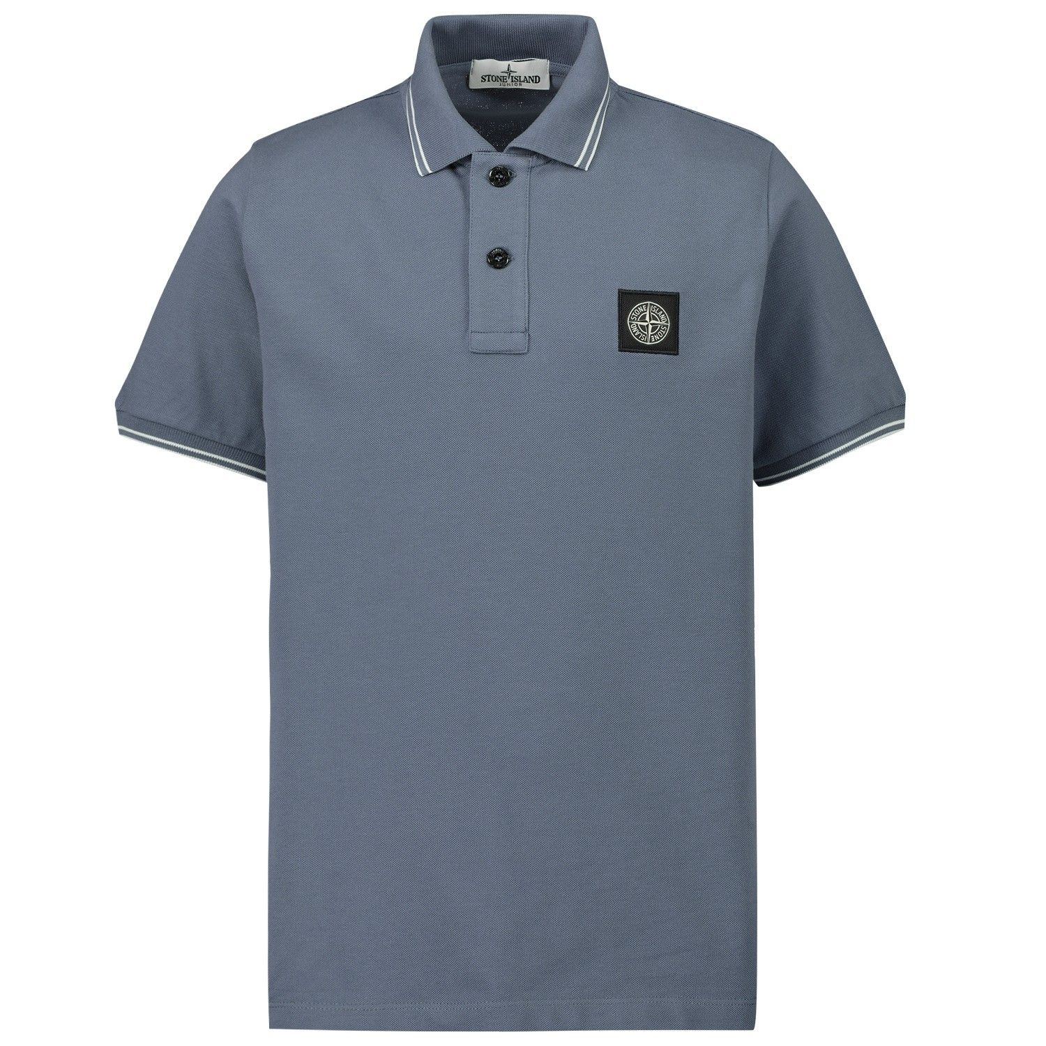 Picture of Stone Island MO731621348 kids polo shirt petrol
