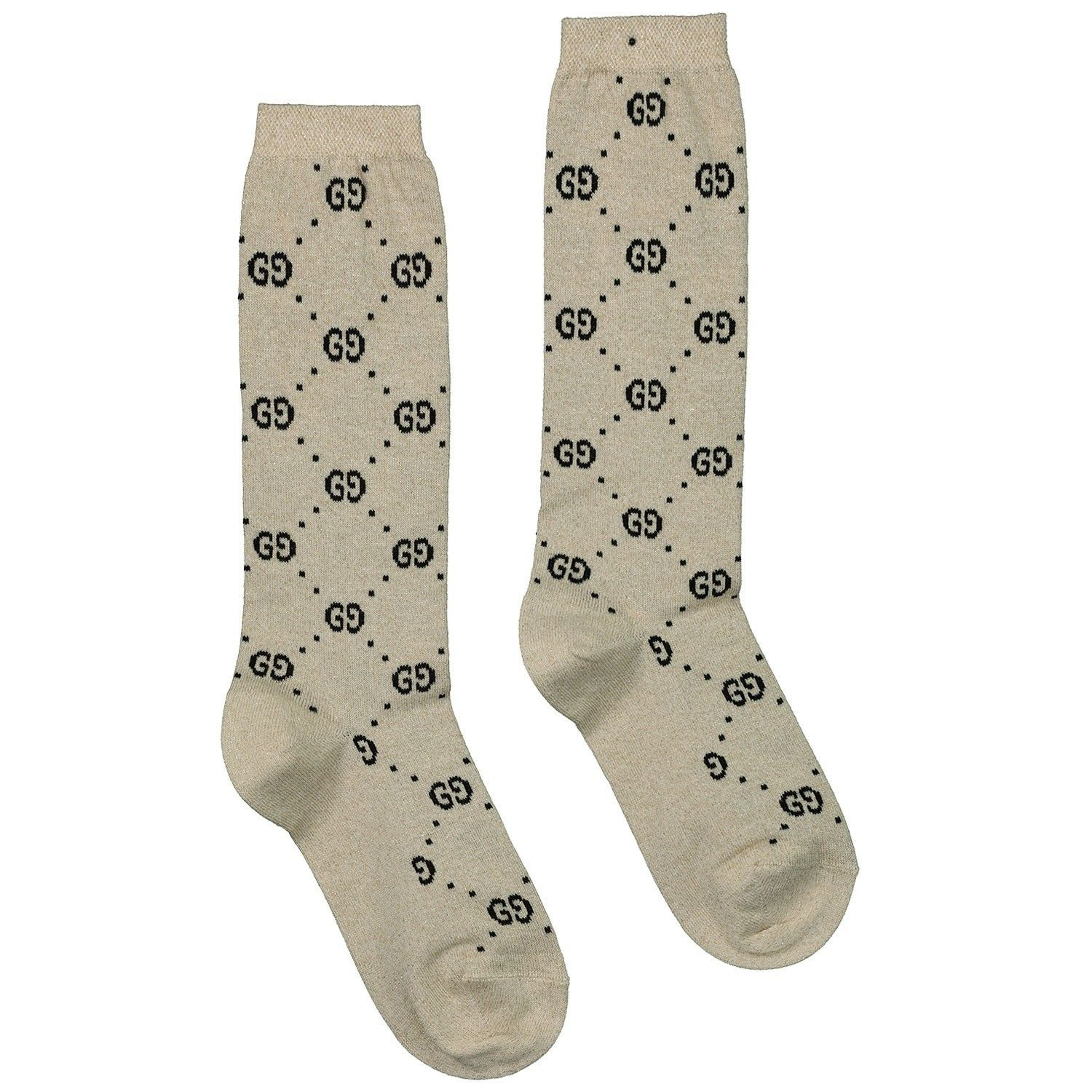 Picture of Gucci 480715 kids socks off white