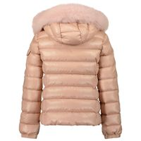 Picture of Moncler 1A58412 kids jacket light pink