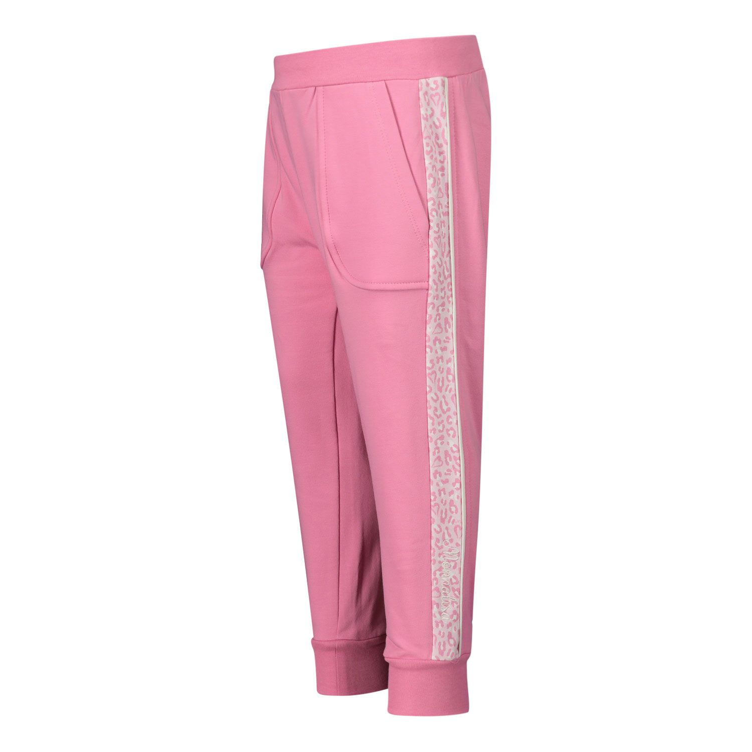Picture of MonnaLisa 396412 baby pants light pink