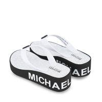 Picture of Michael Kors MK100019 kids flipflops black