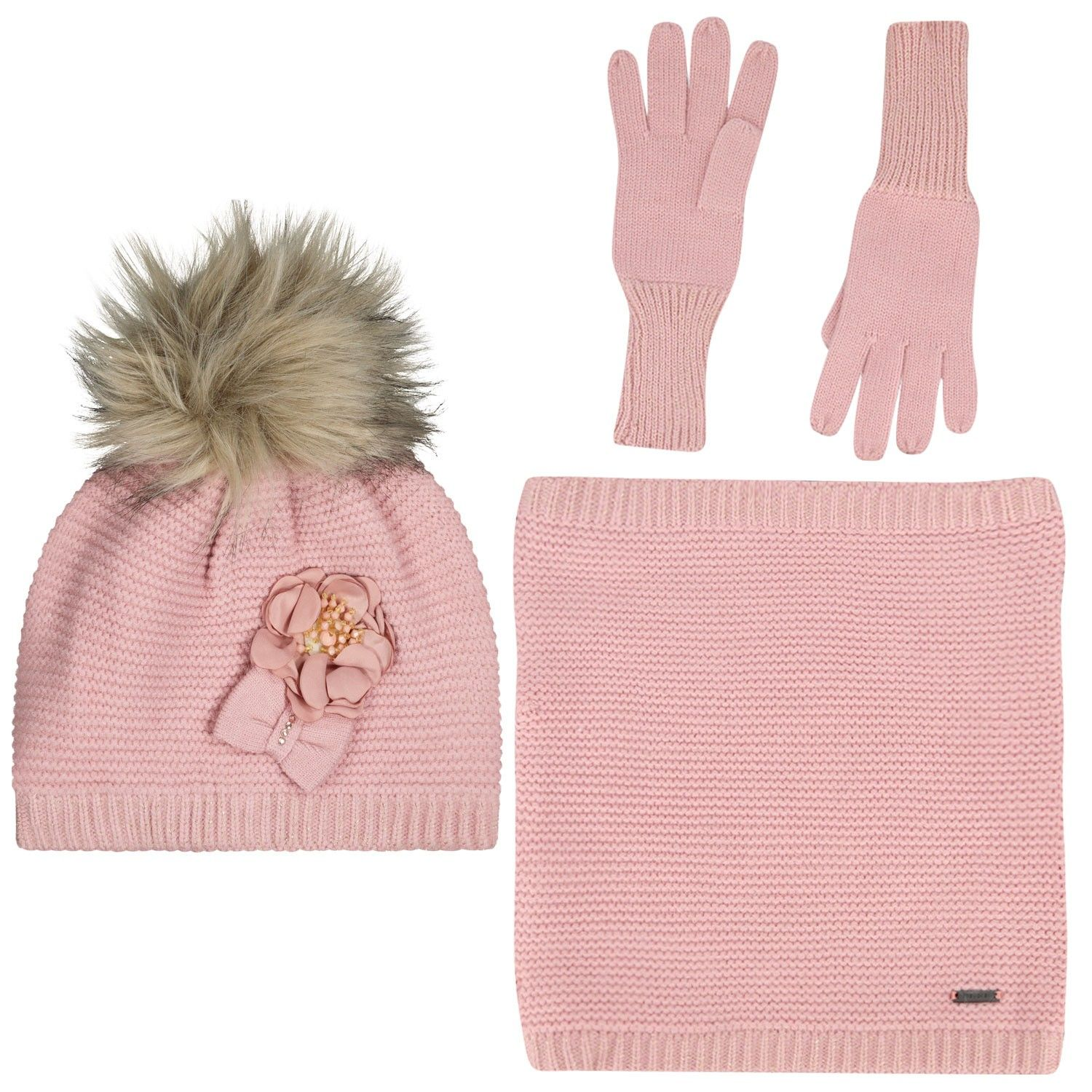 Picture of Mayoral 10699 kids hat pink