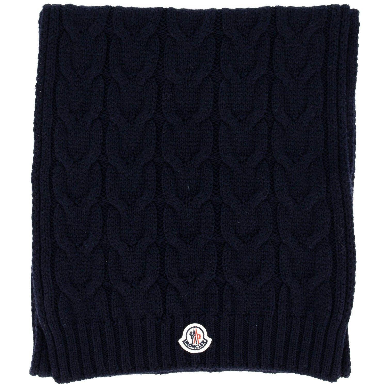Afbeelding van Moncler 3C70020 kinder sjaal navy