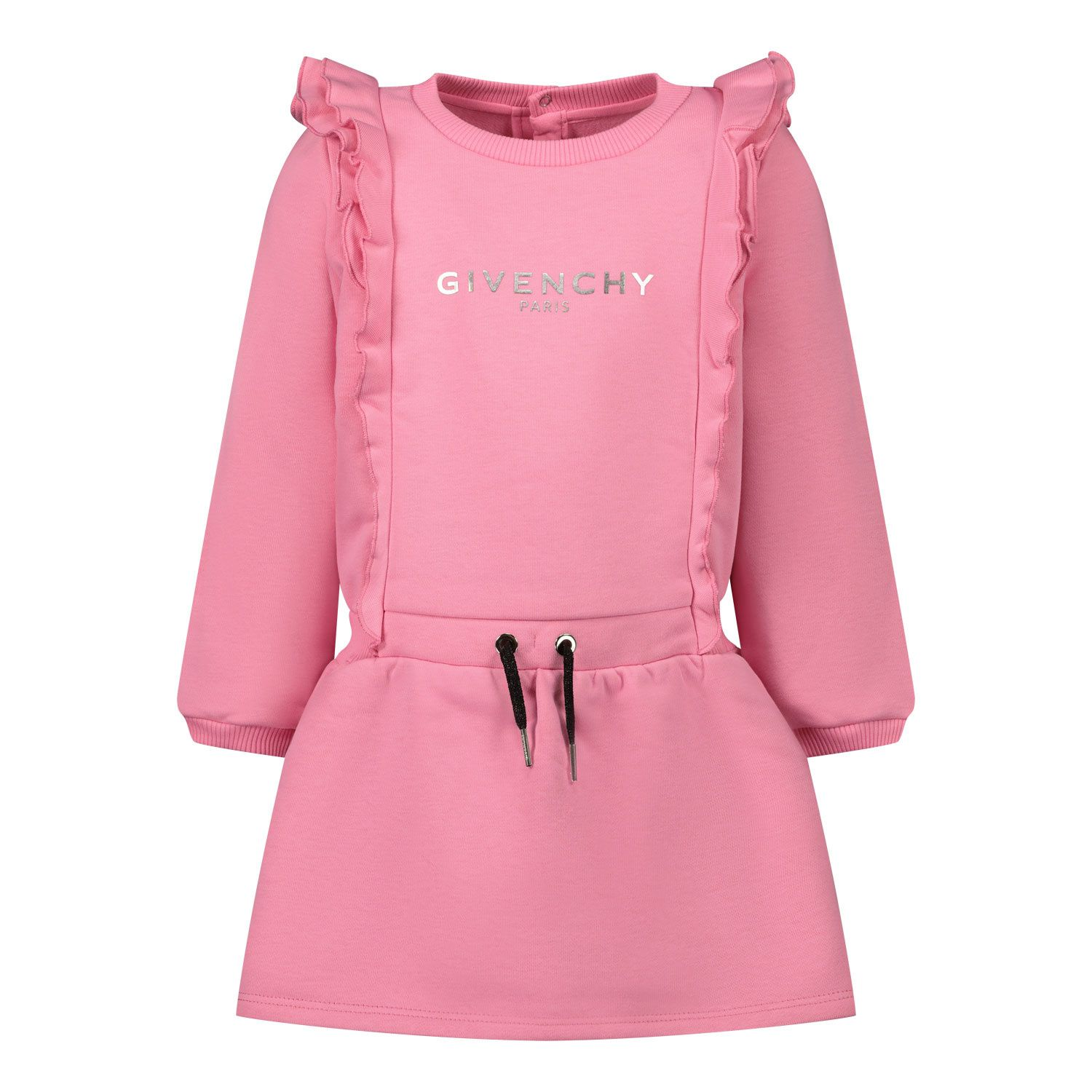 Picture of Givenchy H02061 baby dress fuchsia