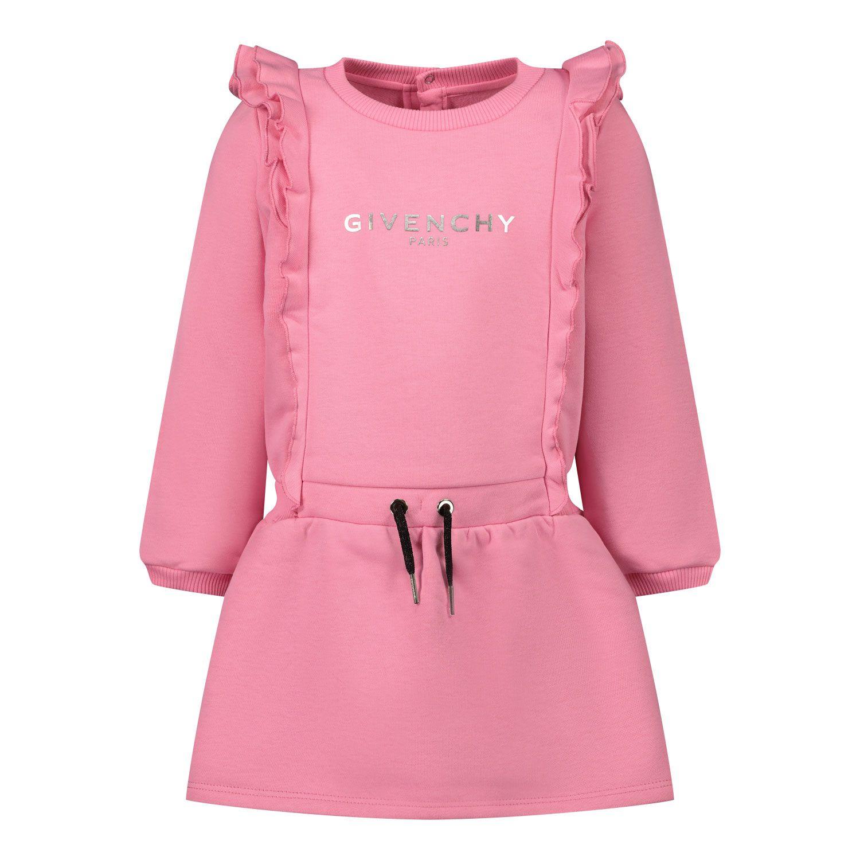 Bild von Givenchy H02061 Babykleid Fuchsia