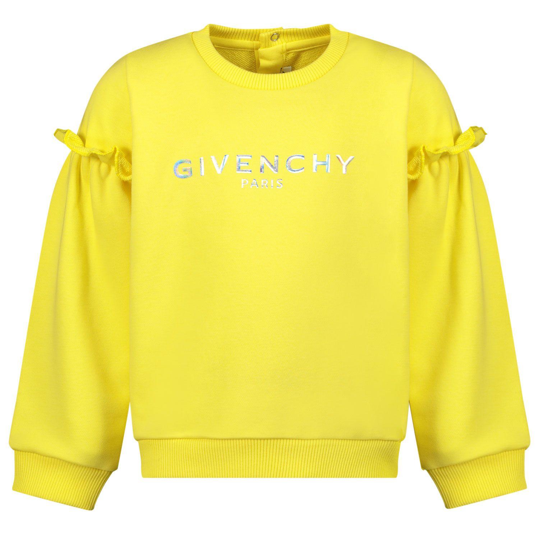 Bild von Givenchy H05167 Babypullover Gelb