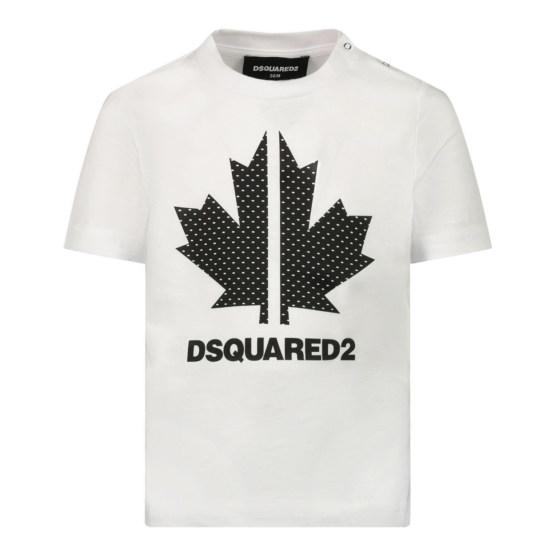 Bild von Dsquared2 DQ0029 Baby-T-Shirt Weiß