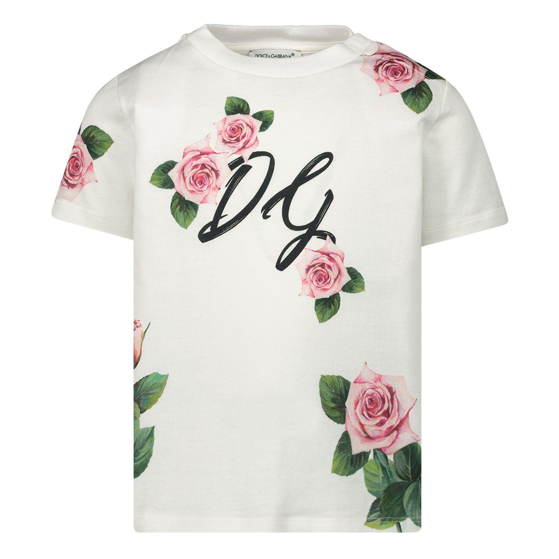 Bild von Dolce & Gabbana L2JTAZ / G7VXY Baby-T-Shirt Weiß
